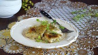 Запеченная рыба с сыром