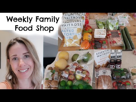 WEEKLY FAMILY GROCERY SHOP & MEAL PLAN | FAMILY MEAL IDEAS | KERRY WHELPDALE