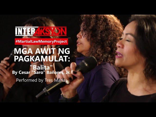 Mga Awit ng Pagkamulat: Balita by Cesar Bañares Jr.