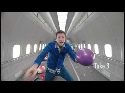 OK Go - Upside Down & Inside Out - BTS - Thunderdome Reel