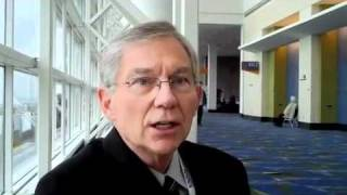 Dr. Jim Reed, an Elsevier Author, at RSNA 2010