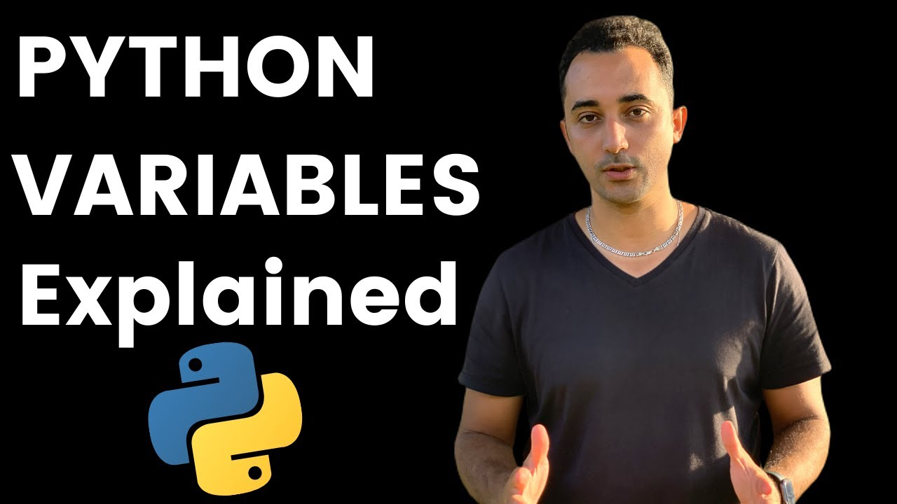 Python Variables (Python Tutorial for Beginners)
