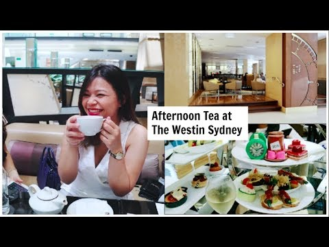 Afternoon Tea At The Westin Sydney | Baby Shower