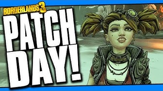 BORDERLANDS 3 | PATCH NOTES! NO MORE UNDERLEVELLED GEAR?!