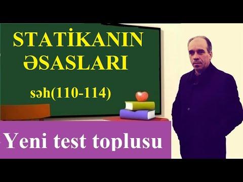 Statikanın Əsasları.1994-2015 DİM