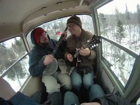 """Lutsen Mountains Gondola Sessions - Kevin & Nate of Pert' Near Sandstone """"Stagger Lee"""" 1-12-13"""