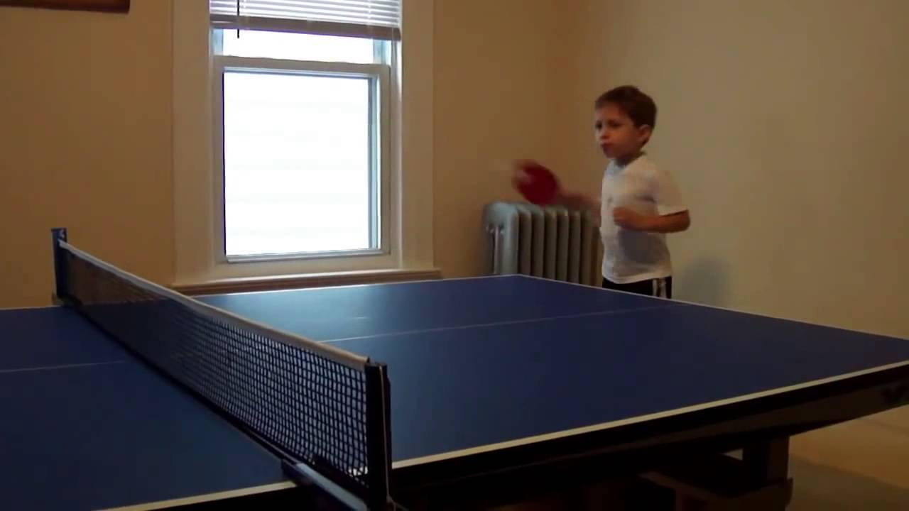 how to learn to play table tennis
