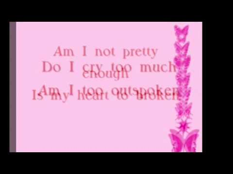 Not pretty enough by Josey Milner lyrics.             Please request songs for me to do