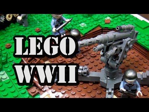 LEGO WWII German Luftwaffe Airfield