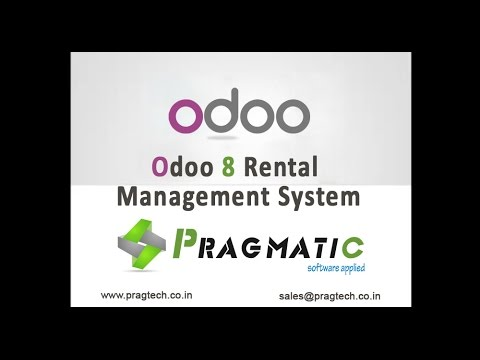 Odoo Openerp Rental Management System