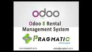 Odoo OpenERP 8 Rental Management System