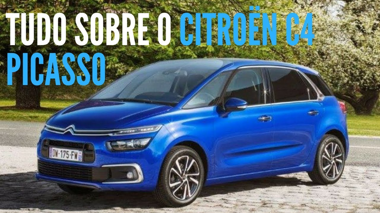 tudo sobre o citro n c4 picasso 2018 e grand picasso 2018 blogauto youtube. Black Bedroom Furniture Sets. Home Design Ideas