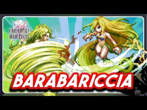 [FFBE] Barbariccia 7 Star: Review and Tips & Combo