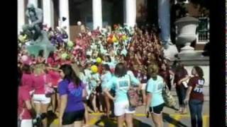 Sorority Bid Day 2010 0 University of Louisville