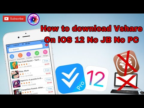 How to download VShare on iOS 12 no jailbreak No computer