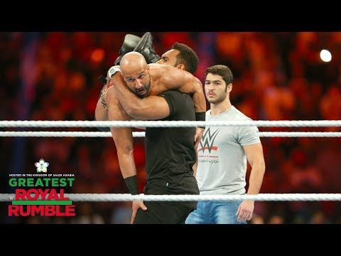 Saudi Arabian WWE prospects take out the Daivari brothers: G