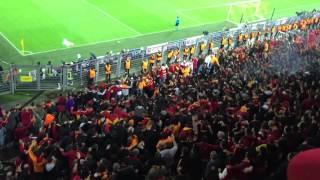 Dortmund vs Galatasaray Champions League 04.11.2014 ( UltrAslan Avrupa ) #Cenk Akkus