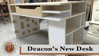 Building a Kid's Desk