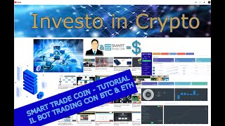 Smart Trade Coin - Tutorial. Bot trading con Bitcoin (BTC) & Ethereum (ETH)