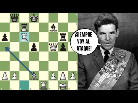 ¿NO TE DESARROLLAS? ¡TE LO HARÉ PAGAR CARO!: Nezhtmedinov vs Chistiakov (Semifinal URSS, 1956)