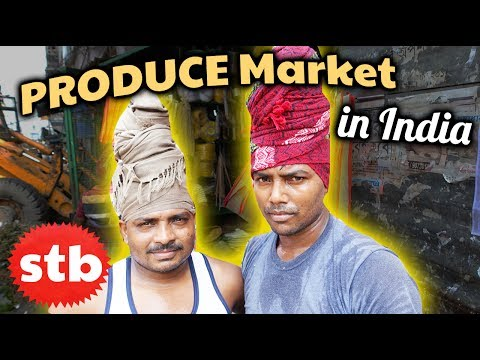 Kolkata's Fruit & Vegetable Market // PRIME-TIME Indian Produce // Things to Do in Kolkata, India