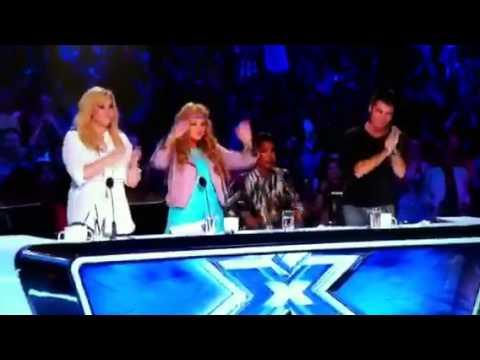 Ashley williams x factor audition youtube