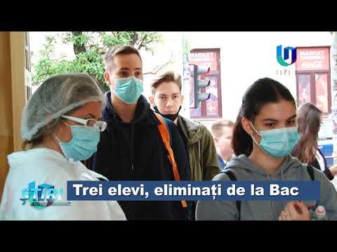 TeleU: Trei elevi, eliminați de la Bac