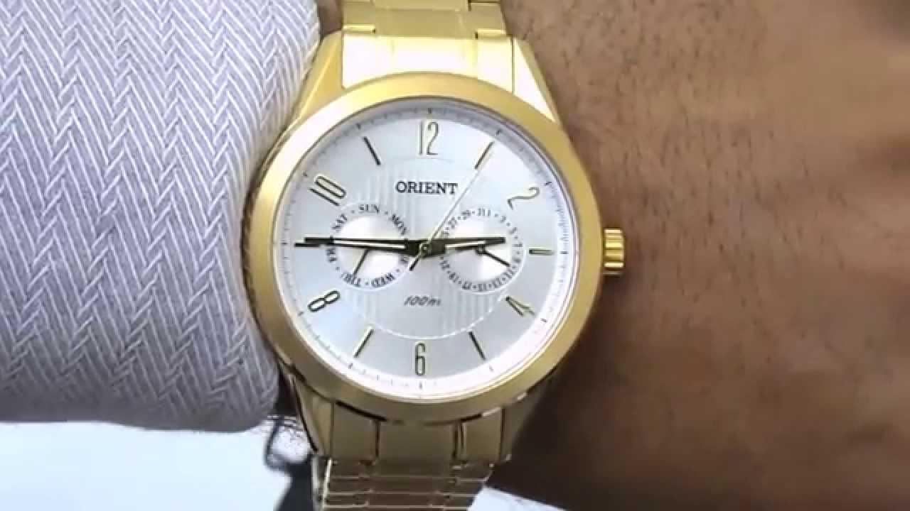 bedf0e2f37a Relógio Masculino Orient Mgssm005 - YouTube