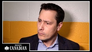 Sens Head Coach Guy Boucher shares an update on his line-up as they...