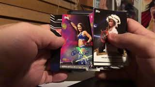 2018 Topps WWE Women's Division Box Break