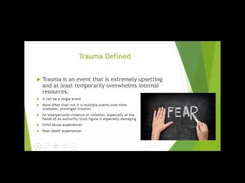 Catholic Charities USA Webinar: Trauma Informed Care
