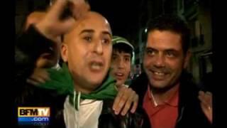 Football : Algérie-Egypte 18-11-09 L'Algérie qualifiée pour la Coupe du monde