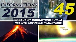 45° ALCYON PLÉIADES - INFORMATIONS 2015: Apparitions d'OVNI, Conspirations, phénomènes Etranges...