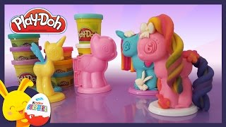 Mon petit poney -Play-doh pâte à modeler en français - Titounis