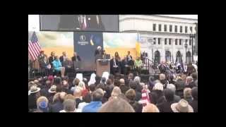 Holodomor Dedication Washington DC