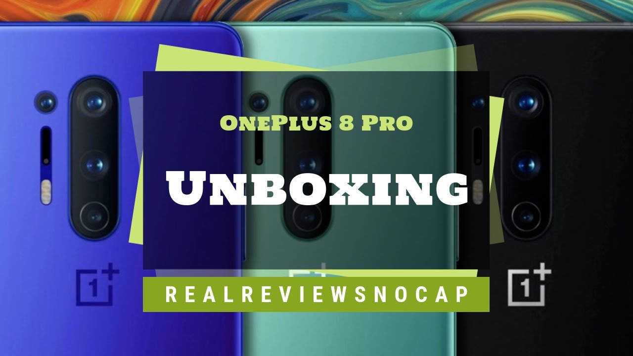 OnePlus 8 Pro Review /  REAL Reviews NO Cap