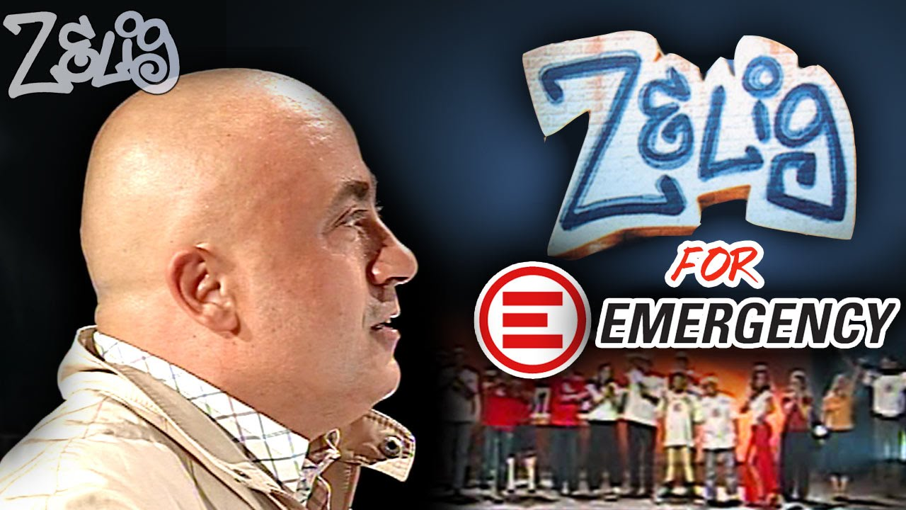 Paolo Cevoli - Zelig for EMERGENCY