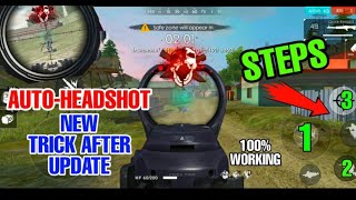HOW TO HEADSHOT IN DEFAULT SETTINGS |GARENA FREE FIRE