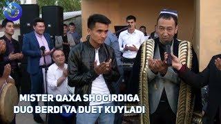 Mister Qaxa shogirdining to'yida birga qo'shiq kuyladi ! mp3