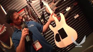 NAMM 2018 Dean Guitars-USA VINMAN SEMI HOLLOW METALLIC WHITE