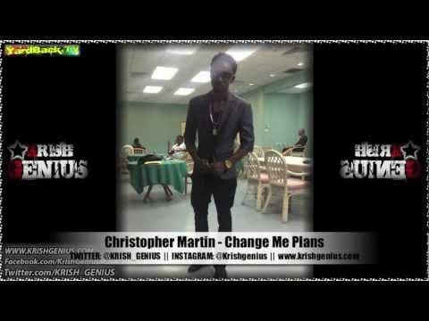 Christopher Martin - Change Me Plans [Soul Reggae Riddim] Jan 2013