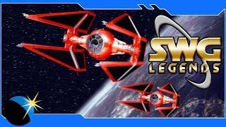 Star Wars Galaxies - SWG: Legends - Royal Guard Tie Interceptor - Jump To Lightspeed