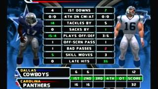 NFL Blitz 2003 - Carolina Panthers @ Dallas Cowboys