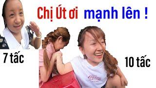 Út Mini, Huy Tí Hon thi vật tay với CLB, Cô nàng bé bỏng nhất VN làm trọng tài II ĐỘC LẠ BÌNH DƯƠNG