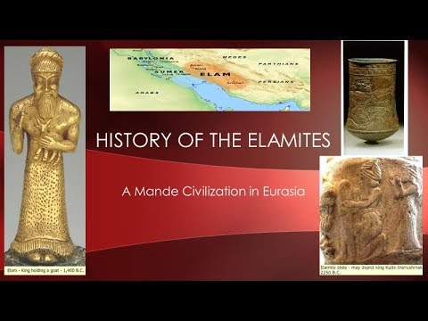 History of the Elamites