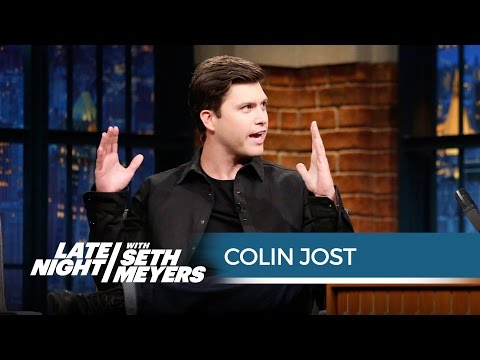 Colin Jost: A Pot Cookie Ruined My Date - Late Night with Seth Meyers
