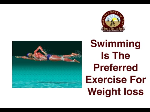 Swimming Is The Preferred Exercise For Weight Loss Youtube