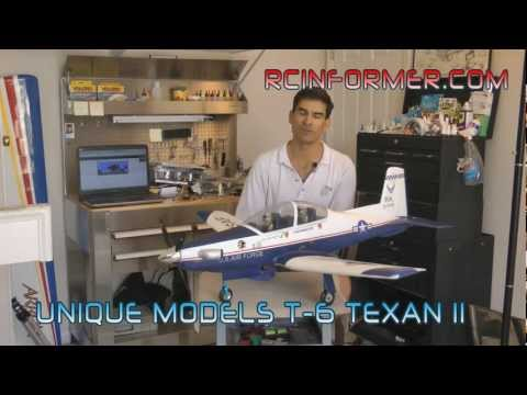 Unique Models T-6 TEXAN II / PC-9 Build Guide