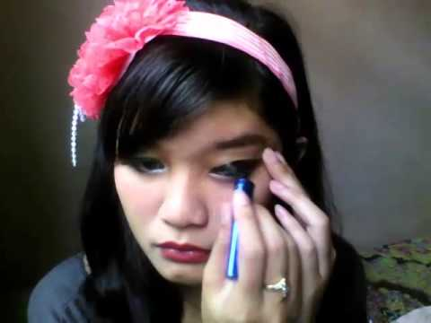 Tutorial Makeup Eyes Doll - Indonesia #23 - YouTube