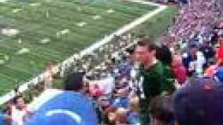 Fight in Packers-Giants  NFL game